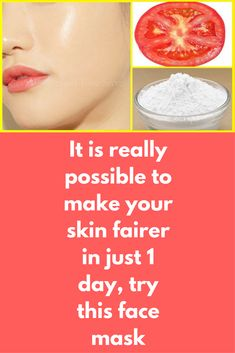 It is really possible to make your skin fairer in just 1 day, try this face mask This is a 1 Day Skin Whitening Challenge of the best skin whitening secret, this formula is very effective to lighten your dark skin & remove sun tan completely. For this treatment you will need 1 ripe tomato Plain flour, also known as maida Rice flour Steps to follow: In a clean bowl take 1 …
