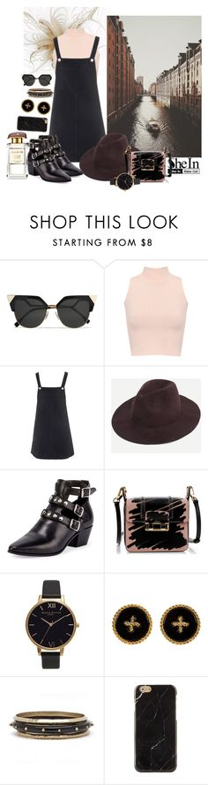 """""""With a kiss in flow"""" by nicolepuppy ❤ liked on Polyvore featuring Fendi, WearAll, Topshop, Yves Saint Laurent, Lanvin and Olivia Burton"""