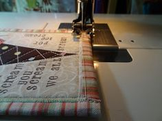 Fabric Postcard and Binding Tutorial