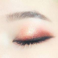 asian, eye, and korean makeup image
