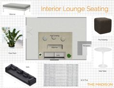 Outdoor Stage, Floor Plants, Sofa Side Table, Lounge Seating, Pouf Ottoman, Flooring, Interior, Couches, Indoor