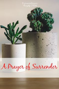 A Prayer of Surrende