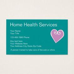 Classy caregiver business cards caregiver business cards home health nurse business cards reheart Choice Image
