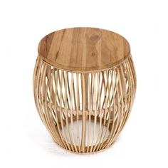 Padma's Plantation Edgewater Natural Rattan End Table Rattan Coffee Table, Rattan Side Table, Brass Side Table, Oval Coffee Tables, A Table, Diy End Tables, Living Room End Tables, End Tables With Storage, Round Accent Table