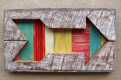 Framed Arrow Wall Art Reclaimed Barn Board Wood Painted 3D Salvaged Rustic Upcycled Home Decor Fraternity Sorority Symbol by ArtfullyRustic on Etsy https://www.etsy.com/listing/197682580/framed-arrow-wall-art-reclaimed-barn