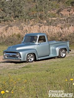 1955 Ford F-100 Pickup Truck                                                                                                                                                                                 More