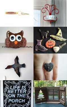 October Fun Finds!  by Marcia on Etsy--Pinned with TreasuryPin.com #promotingwomen