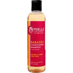 Mielle Organics Babassu Conditioning Shampoo (8 oz.) - NaturallyCurly