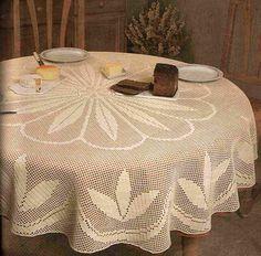 crochet toalha de mesa redonda .. Discussão sobre LiveInternet - Serviço russo diários online