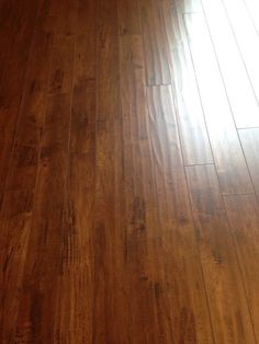 I love this flooring. It looks so much nicer in person than it did on there website. A very good product.Lamton Laminate - 12mm New England Collection Casco Bay Maple Sold by: BuildDirect SKU: 10101944