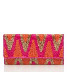 Madeline Embellished Clutch - Forever New $39.99