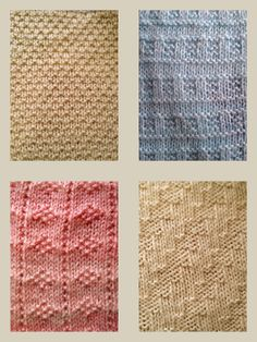 Knitting Pattern for blanket squares PDF by KnitSewMake on Etsy, £2.50