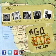 Meet the #GoBigNamibia Team.   Learn more about the campaign and how you can win prize : http://stories.namibiatourism.com.na/   