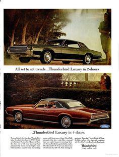 1967 Ford Thunderbird ad in 1966 LIFE Magazine