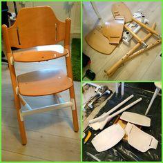 HJERTEHJORT: Barnestoler trenger ikke å være kjipe!!! This chair for children was borring! Bur not anymore :)