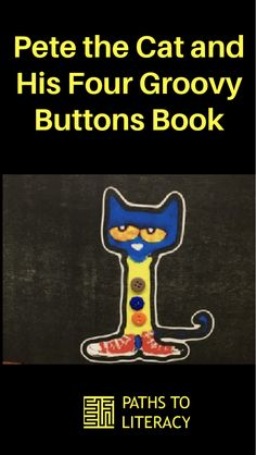 """Adapt """"Pete the Cat and His Four Groovy Buttons"""" for kids with #CVI or other types of visual impairment or special needs. Special Needs, Literacy, Children, Kids, Coaching, Students, Buttons, Paths, Education"""