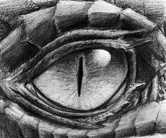 How To Draw A Dragon Eye Step By Step Step 8 Define The Dark