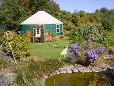 Yurt in the Garden