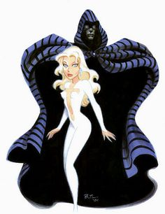 Cloak and Dagger by Bruce Timm
