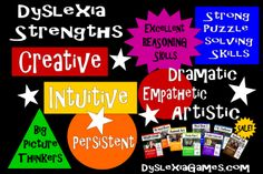 Games on Sale today!  www.dyslexiagames.com
