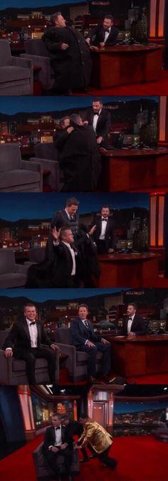 The Rise and Fall of Matt Damon after Ben Affleck snuck him onto Jimmy Kimmel Live