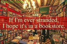 Books! And I hope they ave tea and chocolates.