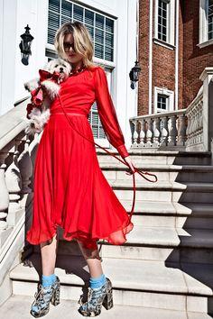 Sneek Peek for Wearable Art 2012-ANNETTE KEYHOLE BACK DRESS.