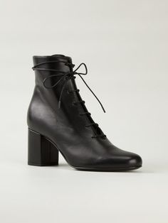 Saint Laurent chunky heel ankle boots