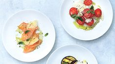We're reinventing the classic caprese salad with 4 new innovations, from cantaloupe and scamorza to burrata and peach