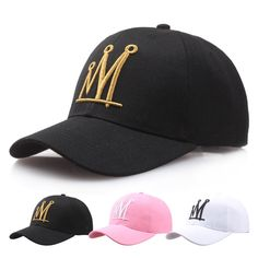 dba3d142187 New hot Women man cotton brand crown baseball caps snapback couple hip hop  hats NY LA polo casual hats high quality golf caps