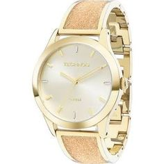Relógio Feminino Analógico Technos Dourado e Rosa Claro Elegance2035LYB/4X