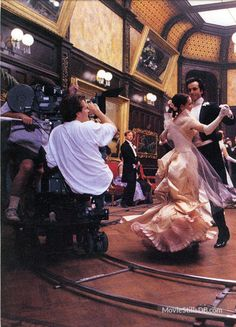 "The Age of Innocence (1993): Production values were so high that by the end of filming, the crew knew how to execute period dances, and to serve full course meals from that era. Bc it was a story about the brutality of social codes, Scorsese paid heavy attn to the lush details of that life. He's called this ""the most violent"" story he's ever filmed."