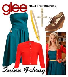 """""""Quinn Fabray (Glee) : 4x08"""" by aure26 ❤ liked on Polyvore featuring Tara Jarmon and Issa"""