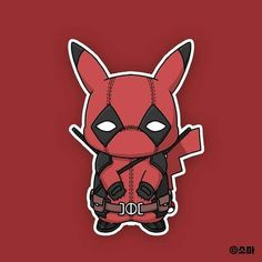 Deadpool Pikachu Picture HD Canvas Prints Paintings Home Decor Wall art Photos Pikachu Pikachu, Deadpool Pikachu, Deadpool Art, Deadpool Wallpaper, Marvel Wallpaper, Chibi Marvel, Marvel Art, Cute Pokemon Wallpaper, Cute Cartoon Wallpapers