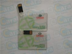Euroasia Place Transparent Card USB Flash Drive www.carausb.com