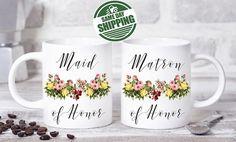 Items Similar To Matron Of Honor Gift Mug Proposal Gifts