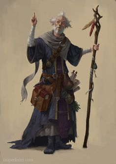 Wizard by IanPerks.deviantart.com on @DeviantArt