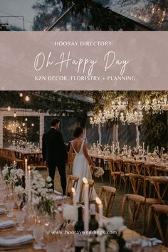 Oh Happy Day is an award-winning wedding and event planning company, run by a dynamic set of creatives. Whether you're looking for a wedding planner in KwaZulu-Natal or beyond, we travel throughout the country from our base in Durban to make your dream day a reality. We are also available worldwide for those wanting a luxury destination wedding. #hooraydirectory #weddings #southafricanweddings #southafricanbrides #planningmywedding #hoorayweddings