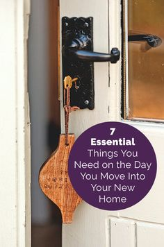 7 Essential Things You Need the Day You Move Into Your New Home  | As the experts in homes, we have a few simple ideas that can help make the logistics of moving day that little bit less stressful.   Make a box and designate it as your moving survival kit. Fill it with things you will need until everything is unpacked and set up, and move it yourself so it doesn't get lost in the moving-day whirlwind. Here's what to put inside.