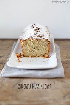 Zucchini-Nuss-Kuchen