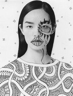 Photography Illustration, Photo Illustration, Photography Projects, Art Photography, Foto Face, Fridah Kahlo, Tatoo Art, Art Academy, Photomontage