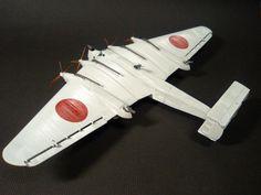 レベル 1/144 92式重爆撃機(ユンカースG38改造)
