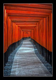 Inari Gates Kyoto, Japan