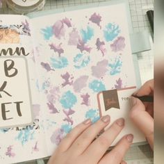 "Gefällt 137 Mal, 19 Kommentare - Sigrid | planning ♥lettering (@sigridspiration) auf Instagram: ""[Werbung] #softy2404 My autumn bucket list in timelapse... I'm quite in love with all those colors…"" Bucket, Phone Cases, Watercolor, Autumn, Lettering, Colors, Instagram, Advertising, Pen And Wash"