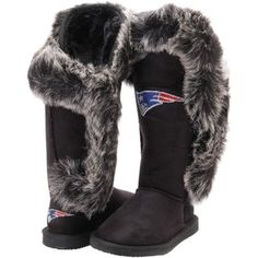 Cuce Shoes New England Patriots Women's Wedge Shoes