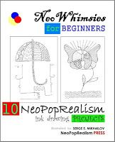 """An instructional book - """"NeoWhimsies for Beginners: 10 NeoPopRealism Ink Drawing Projects"""" - 10 amazing ink pttern projects, must have!"""