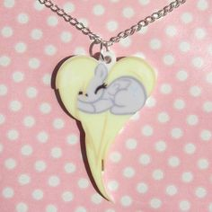 My Little Pony Friendship is Magic sleeping heart necklaces