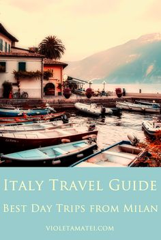 A brief overview of the best day trips from Milan, Italy. You can visit Bergamo, Verona, some beautiful lakes, and even Venice, while setting your base in Milan.