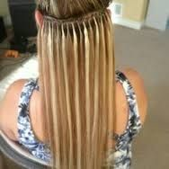 Weft Hair Extensions blends into the hair line, appearing to be growing directly from the roots, perfect for elite clients or those needing more discreet option, easy to maintain long lasting and high quality product. http://goo.gl/OmkKDi