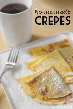 How to Make Crepes From Scratch